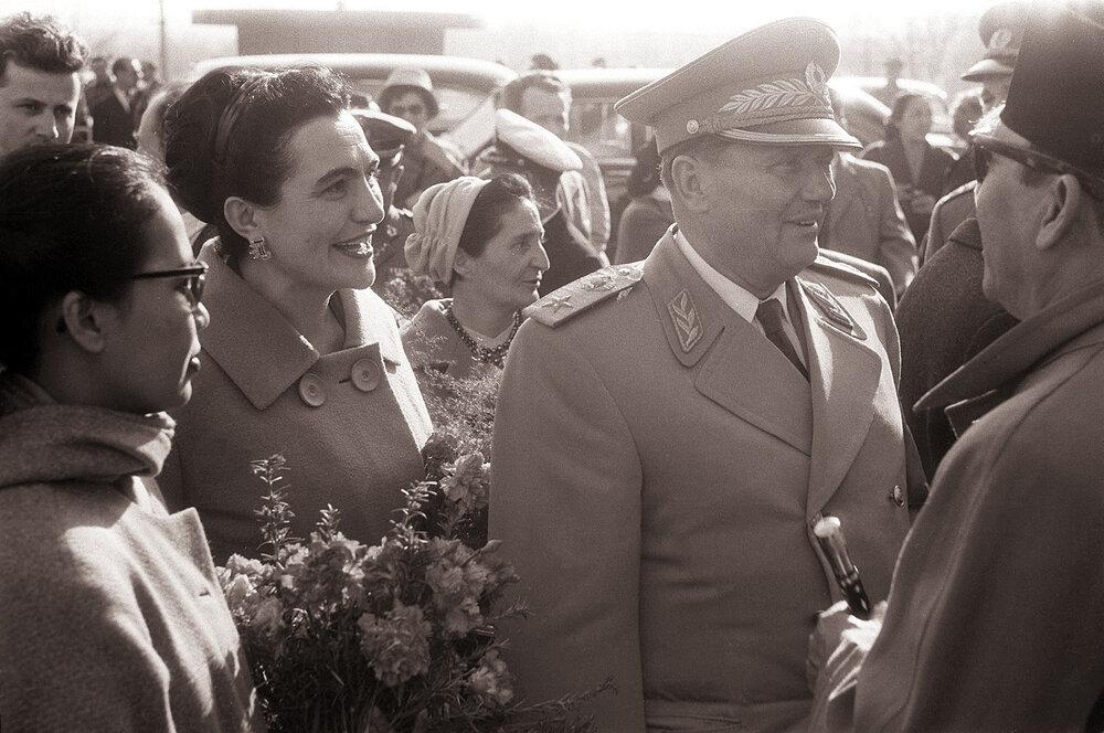 Tito i Jovanka Broz, Foto: Wikipedia