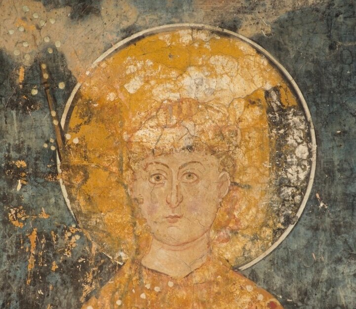 Misteriozni lik sa freske u manastiru Visoki Dečani