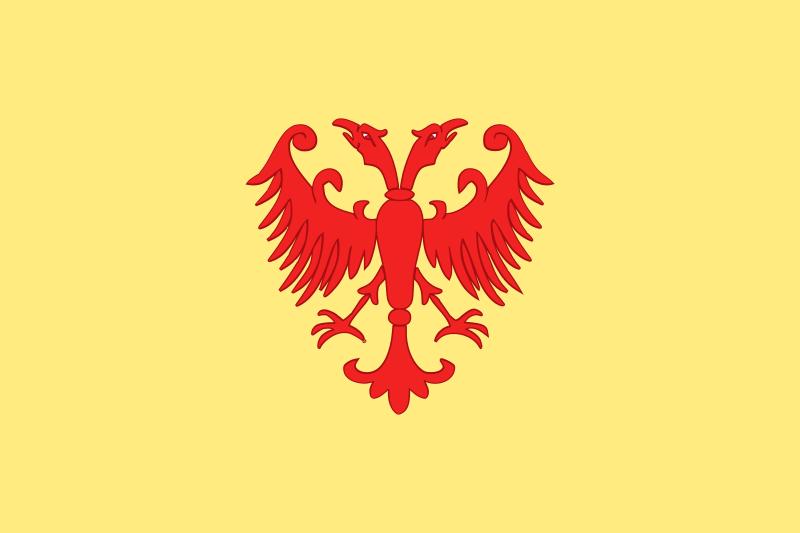 Grb Dušanovog carstva (rekonstrukcija)