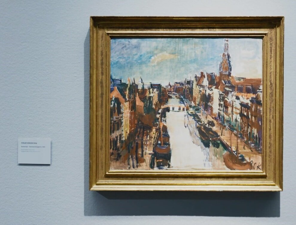 Delo Oskara Kokoške, Foto: Printscreen Youtube/Leopold Museum Wien