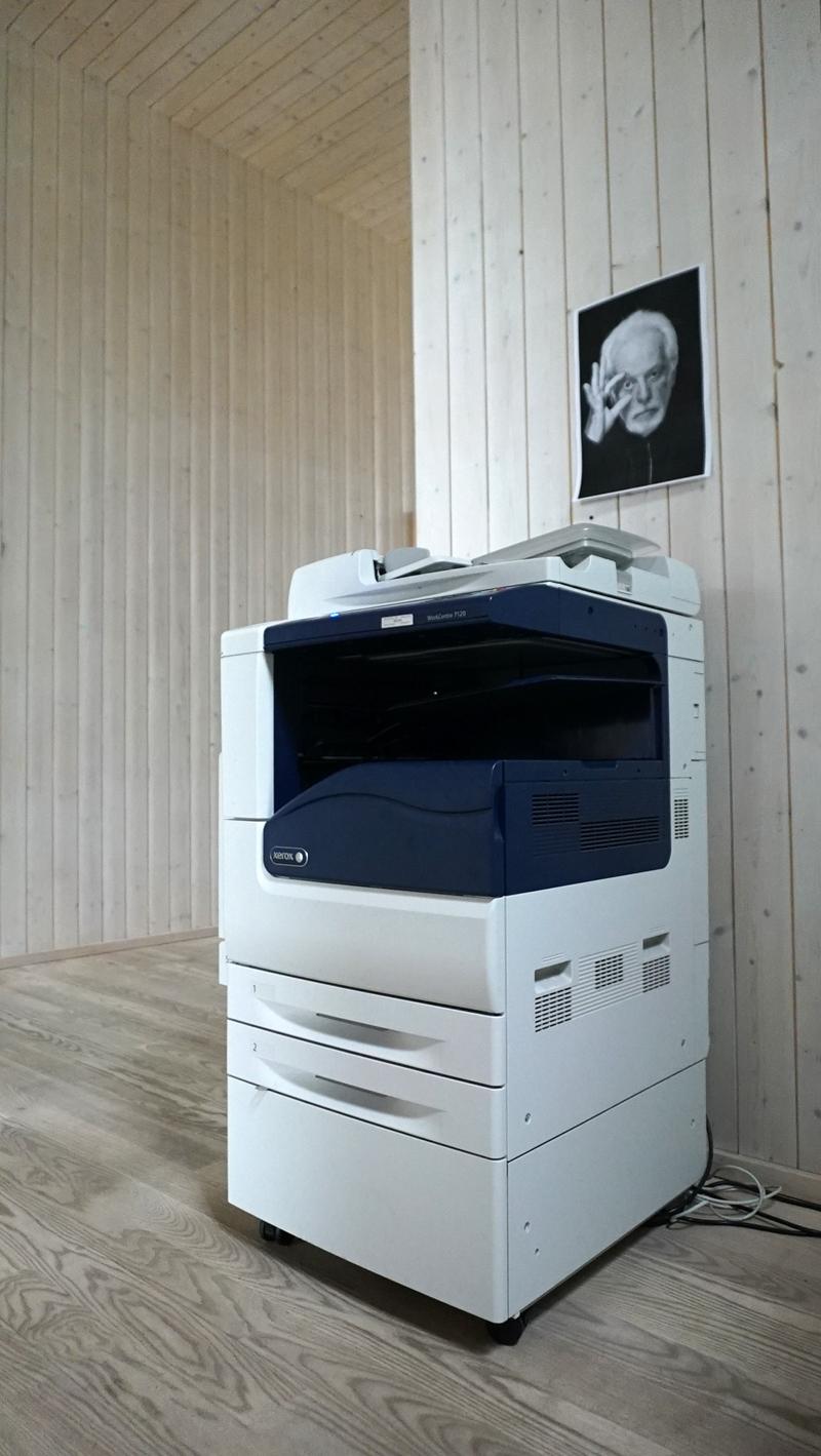 The Workcentre 7120 Xerox printer at Rupert (c) Dovalde Butenaite.