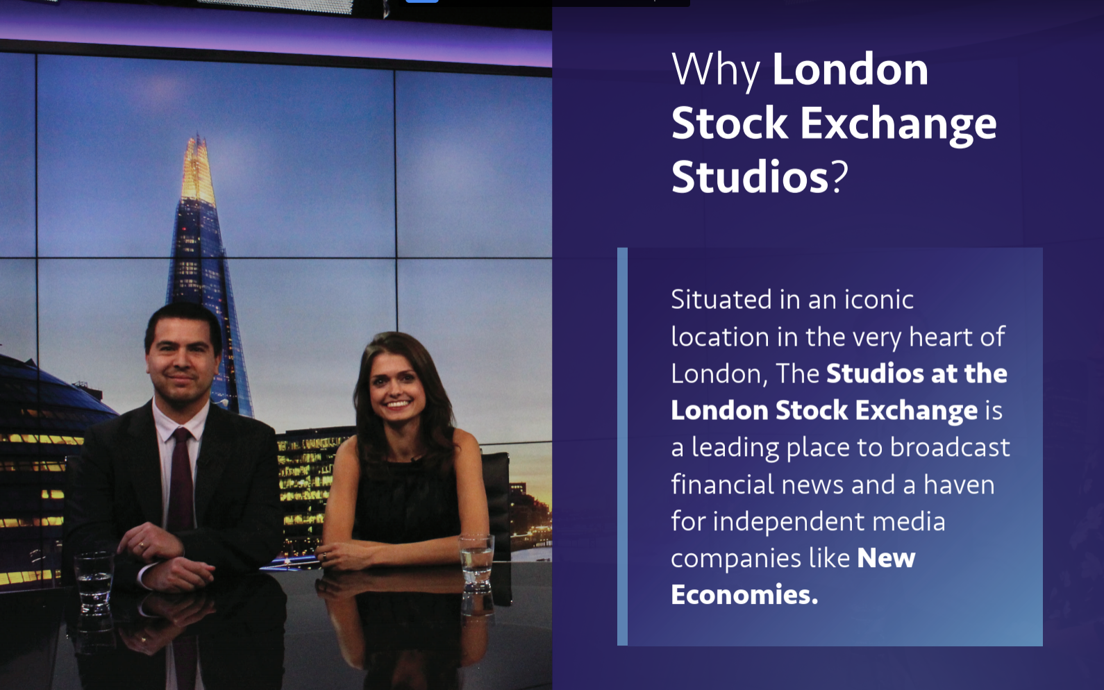 London Stock Exchange Studios