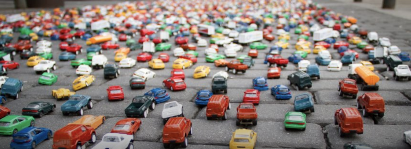 Image Credit:    Toy car traffic    image via Shutterstock