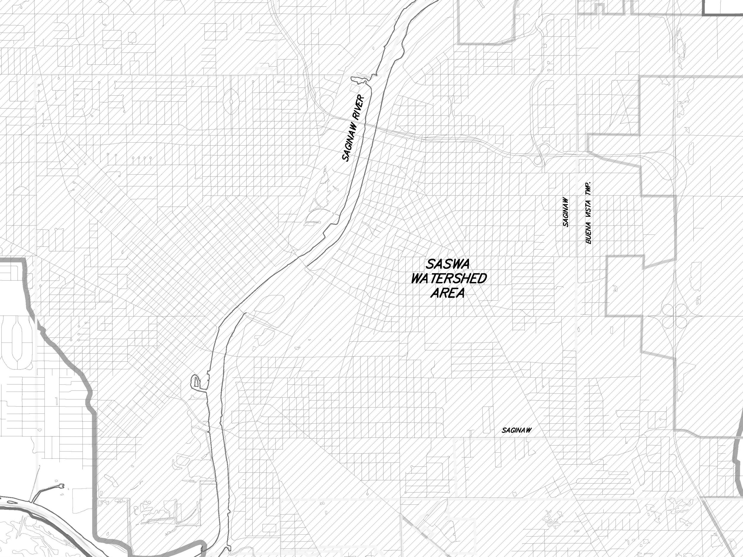 Upper Saginaw Watershed - PDF / Large Image