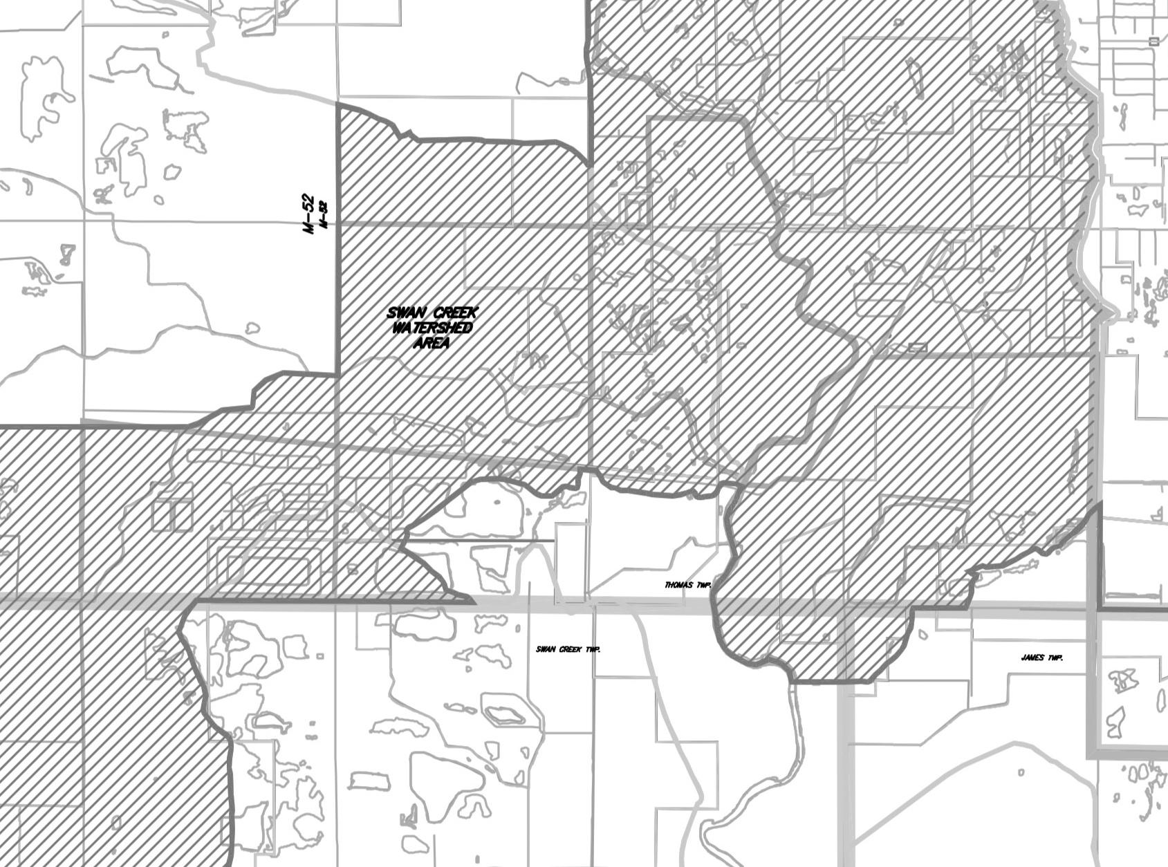 Swan Creek Watershed - PDF / Large Image
