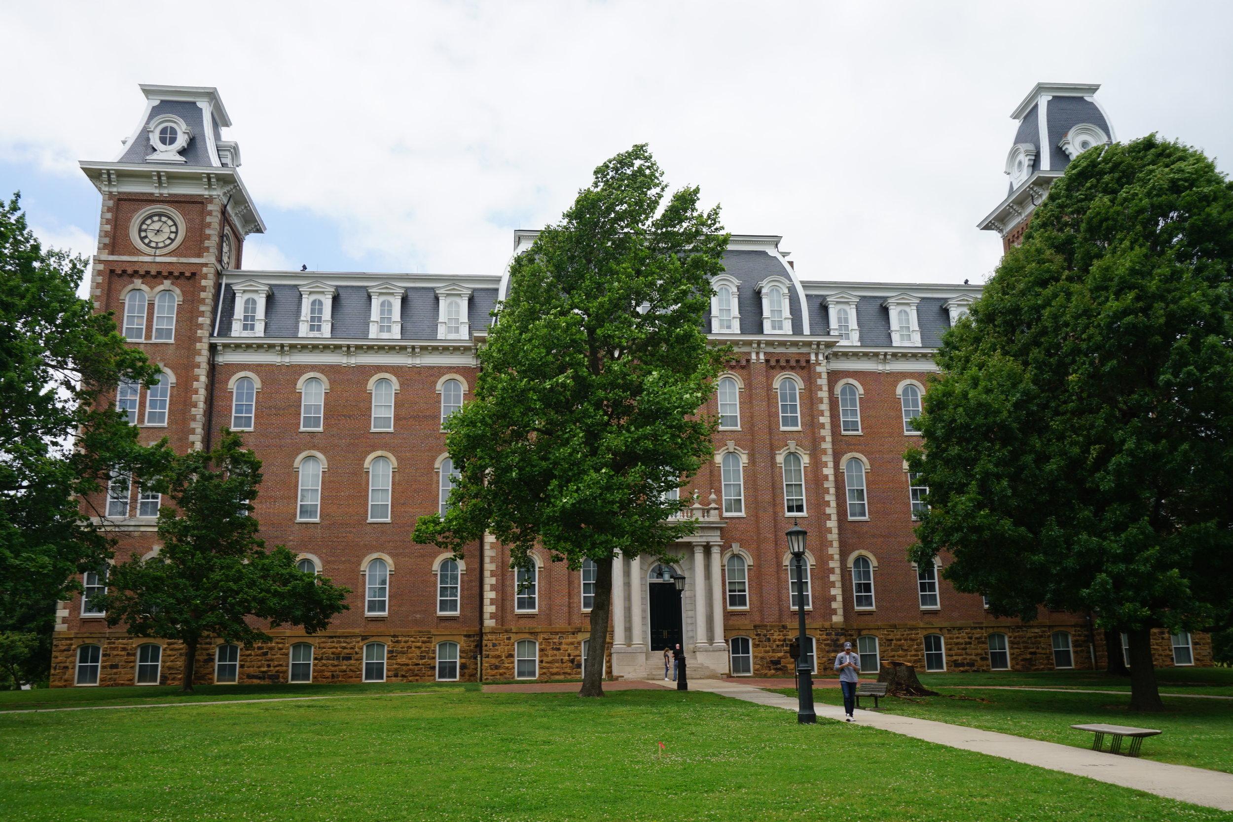 Old Main, University of Arkansas campus