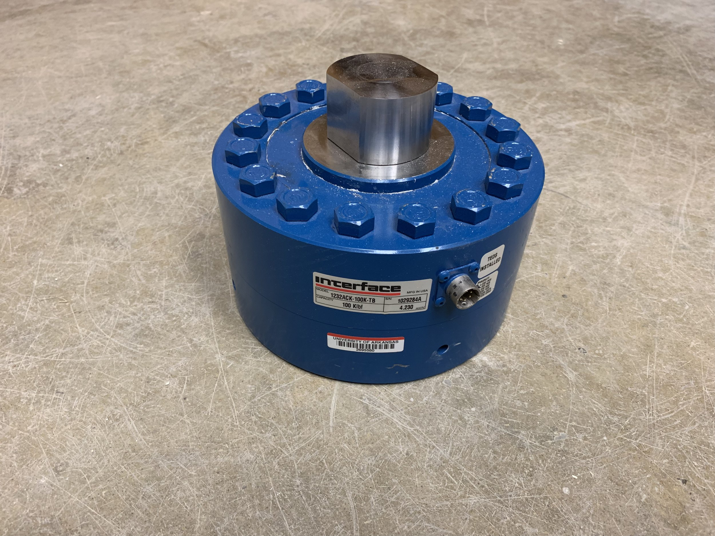 Interface 1200 series load cell (100k)