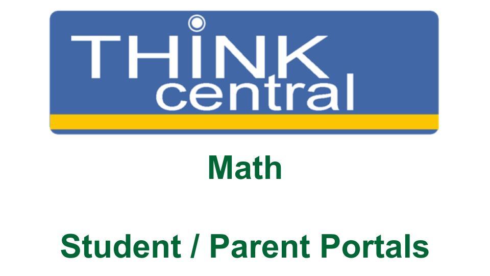 Math Login -