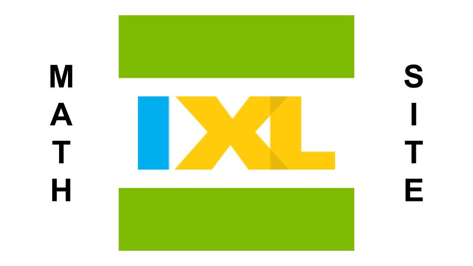 IXL Math Site -