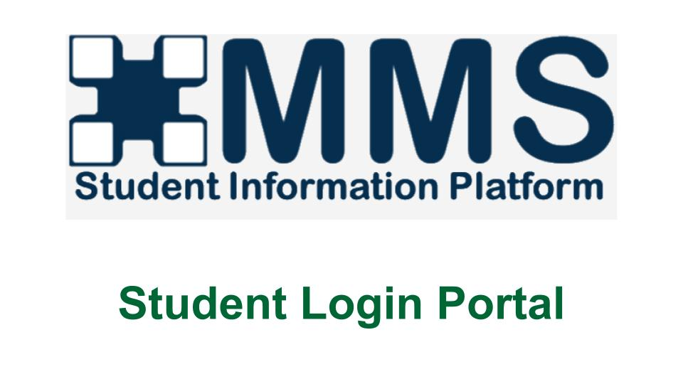 MMS Student Login -