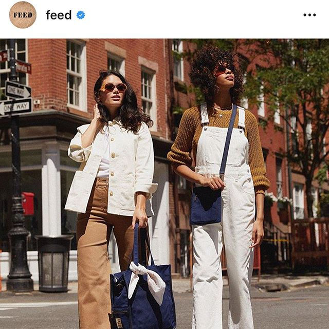 Swooning over the @feed x @natgeo collaboration, made with First Mile Canvas! We love seeing our responsible material go on to have even more positive impact in the world!  #fromthefirstmile #recycledpolyester #sustainablefashion