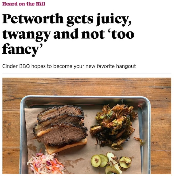 Roll Call - Petworth gets juicy, twangy and not 'too fancy'