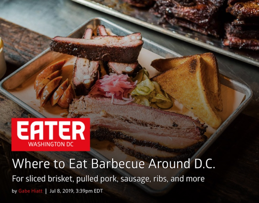 Eater DC - Cinder has given Petworth's main drag a place to get generously spice-rubbed barbecue from longtime mobile pitmaster Bill Coleman.