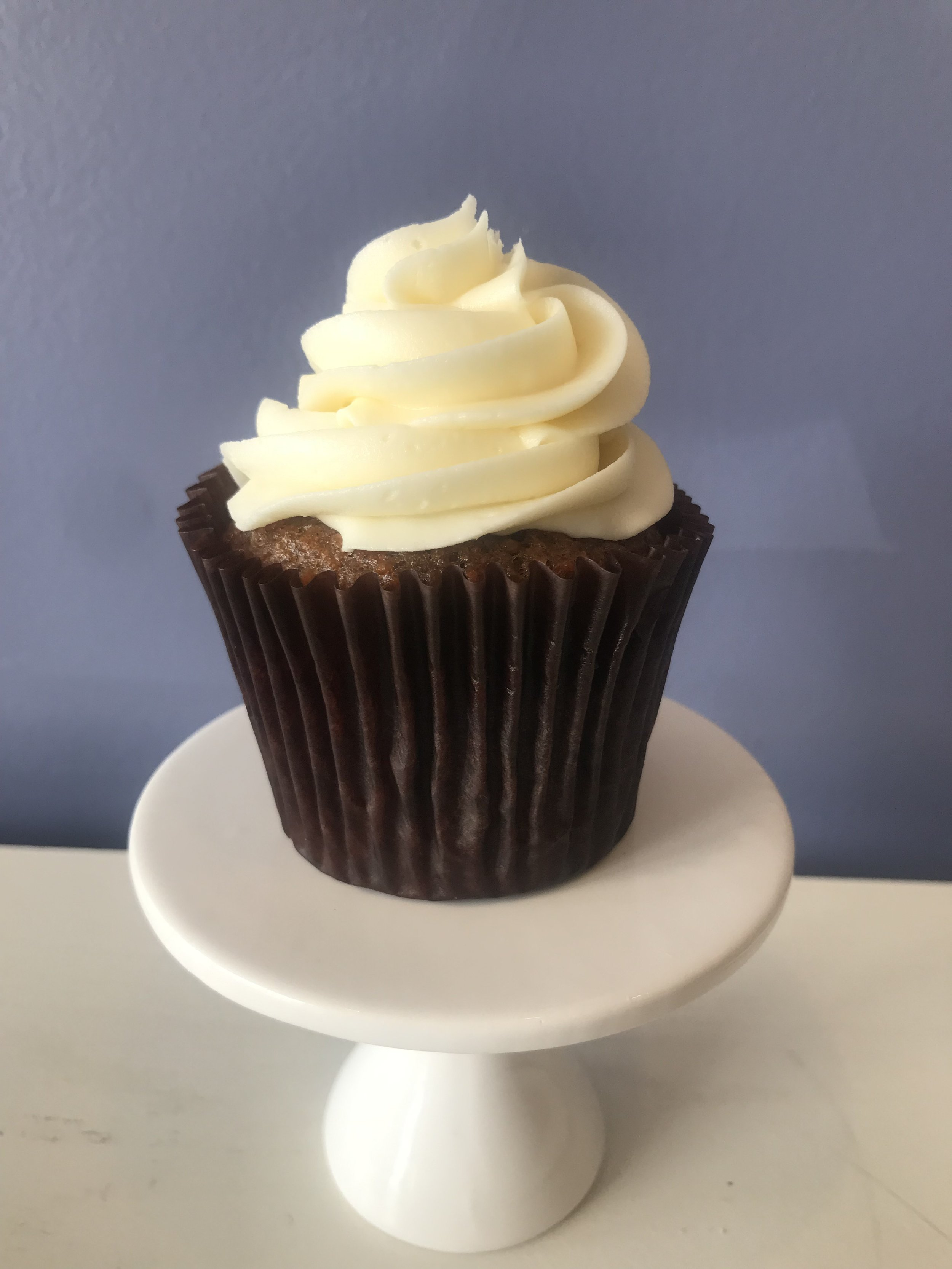 Carrot - Classic carrot cake with cream cheese frosting.
