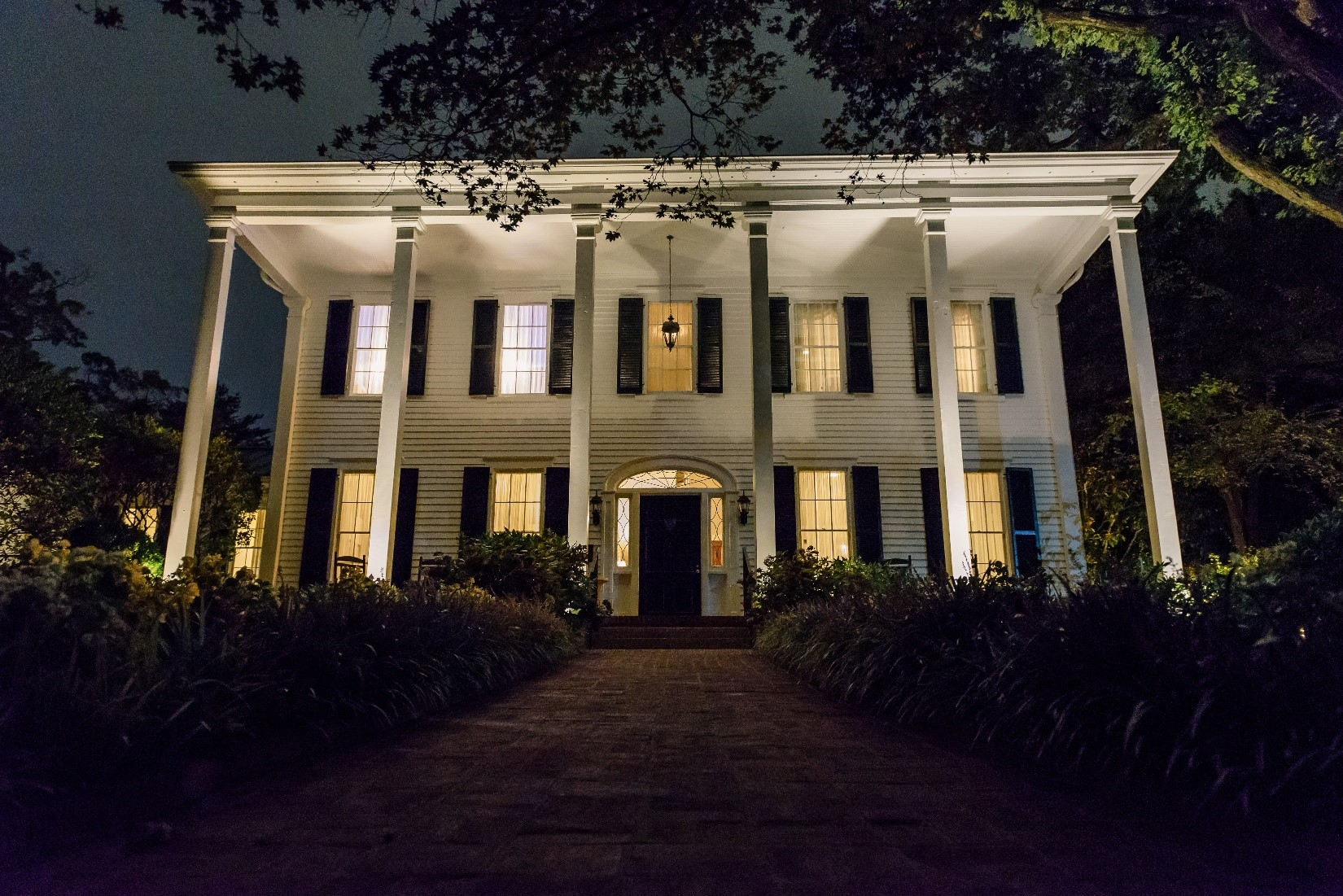 Front of House at Night.jpg