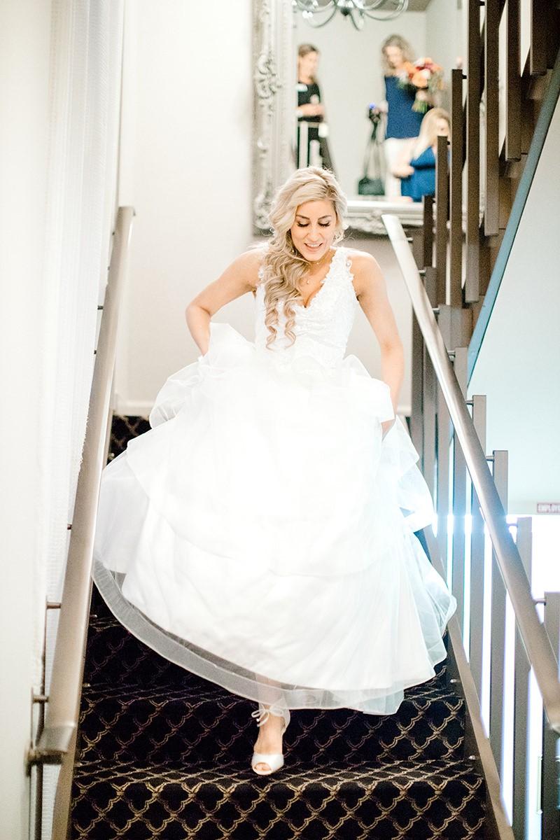Bride Coming Down Stairs.jpg