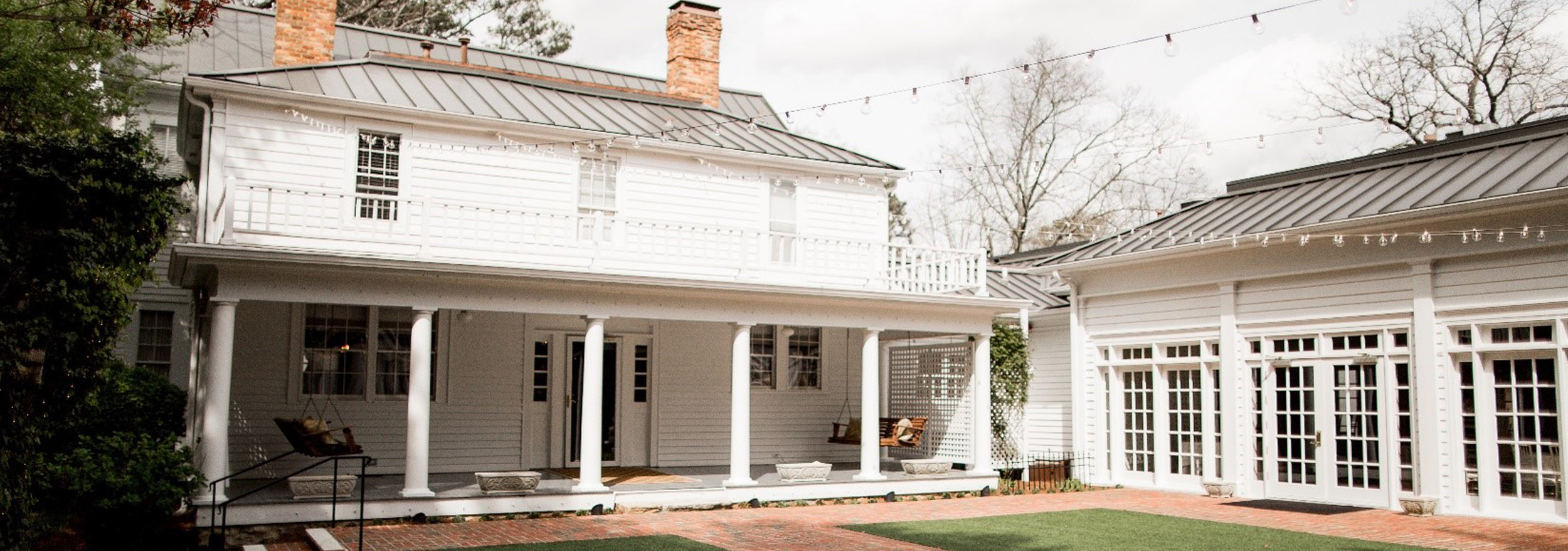 Southern Elegance with a Rustic Twist - Antebellum Era Captured Minutes from Downtown Atlanta