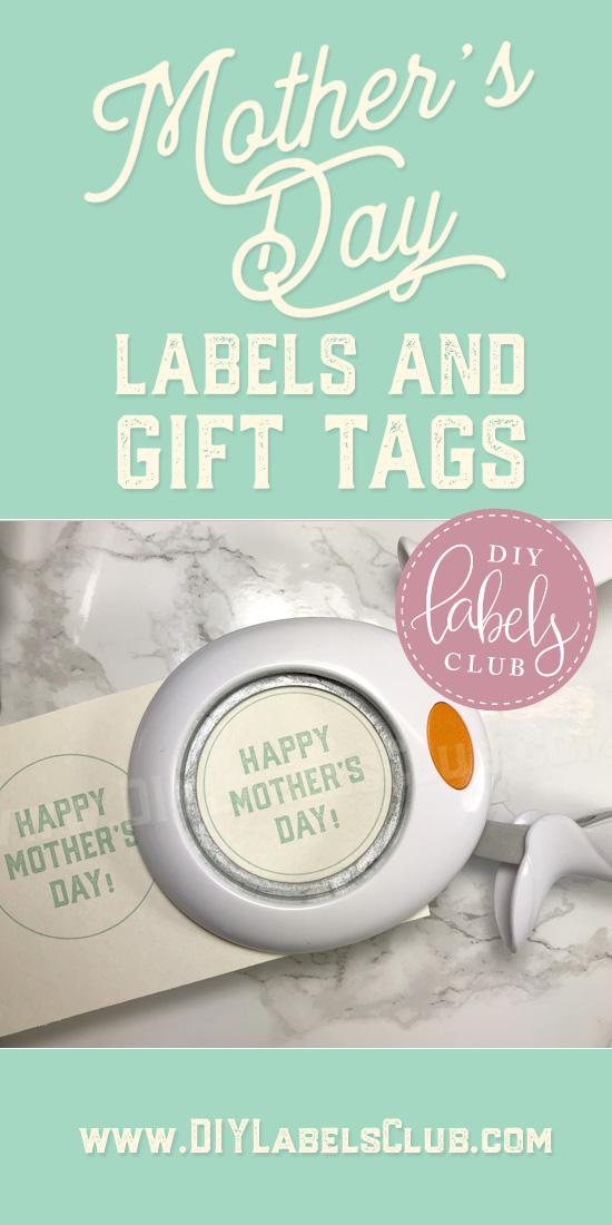Mother's Day gift tags for DIY gift ideas