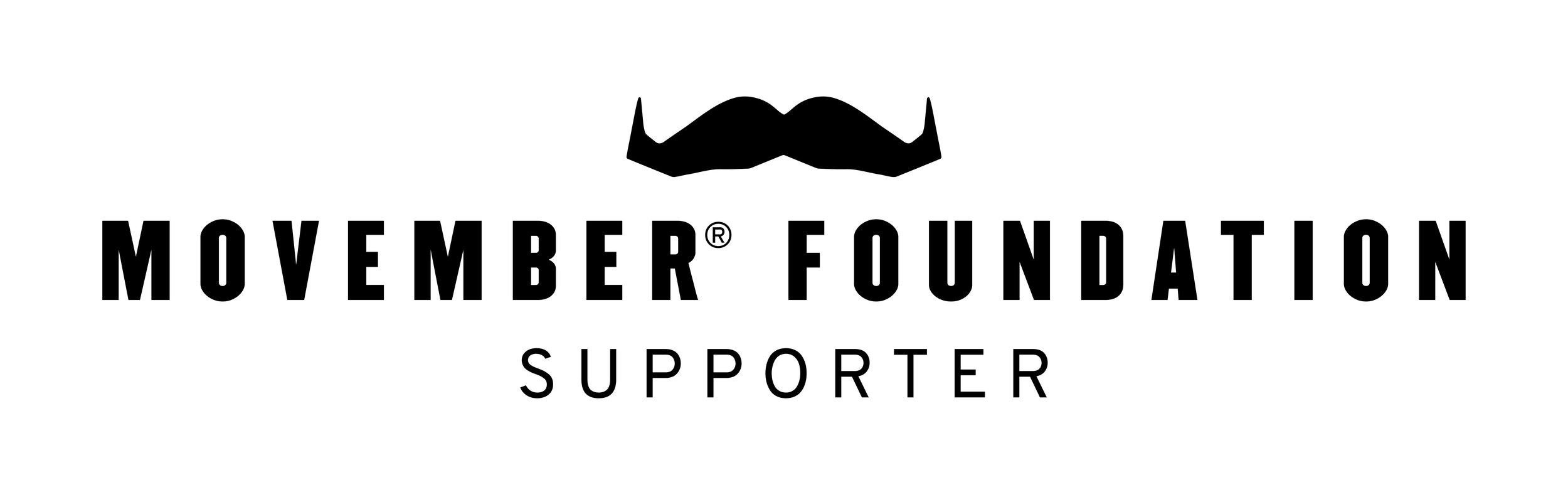 Major Charity Beneficiary - We are proud and honored to work with Movember for our events!