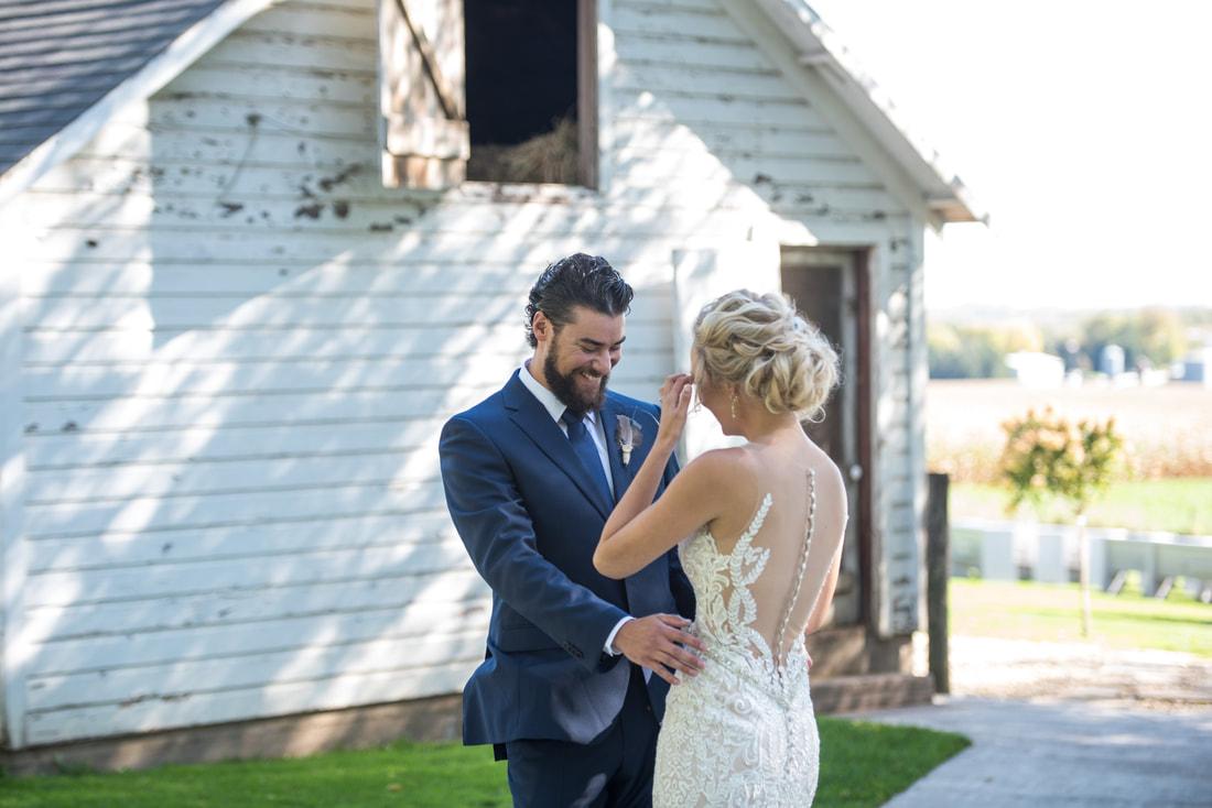Jessica & Chris - Bridal Hair