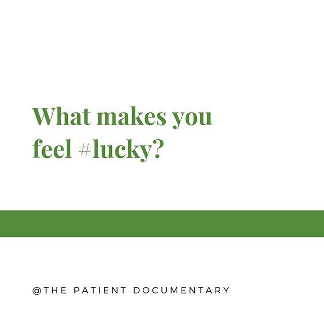 Thursday questions! #cancer #cancersucks #luckyus