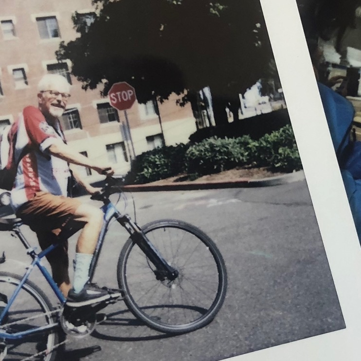 "Bill biked to chemo saying, ""Why not, I live close!"""