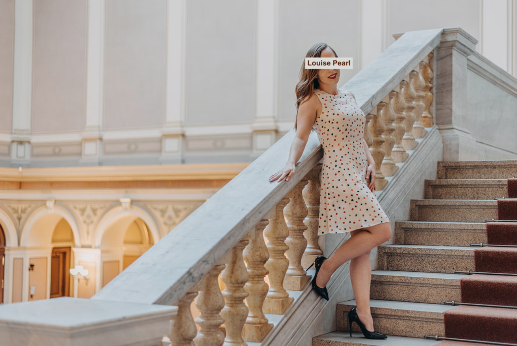 Louise Pearl - Your Girl Next Door, petite yet curvy natural companion offering a discreet girlfriend experience with empathy and an open mind.Based in Prague; available to travel internationally upon invitation.
