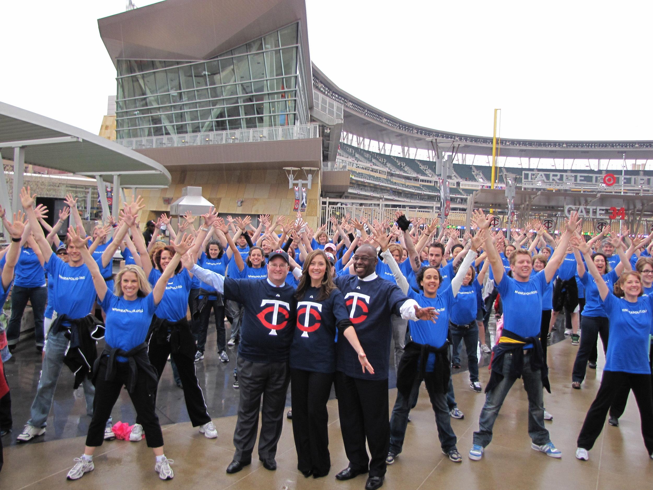 MN Twins Flashmob