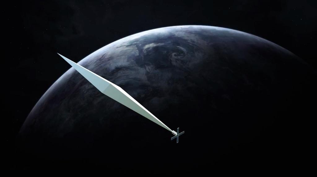 Trevor Paglen, Orbital Reflector