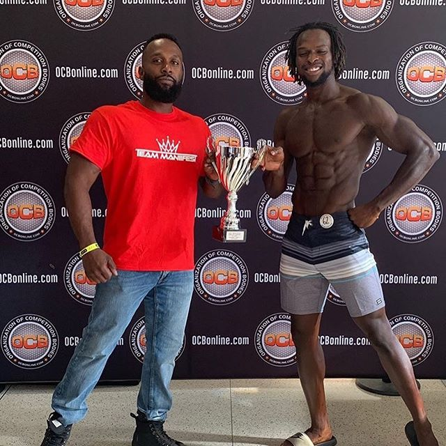 "The team got a win today and I cannot be more proud of @jacked_gainz for winning is PRO CARD in men's Physique. There was so much to this back story with this trip back to the stage but regardless, Jose listened to my advice, followed the programming and came back with a totally different package. S/O to the 757 hittas Queens and Kings that came to show love. • There will be more to come... More success to rightfully claim! • ""INTENTIONAL ACTIONS REQUIRE INTENTIONAL THOUGHTS"". • Team ManiiFesT • #ocbbattlefortidewater #ocbpro #mensphysique #fitness #bodybuilding #bodybuilding_motivation #theocb #ocbcoach #manifest #1stplace🏆 #Virginia beach #fitspo #fitnessaddict #positivevibes #brother #blessed #Beintentional❕"