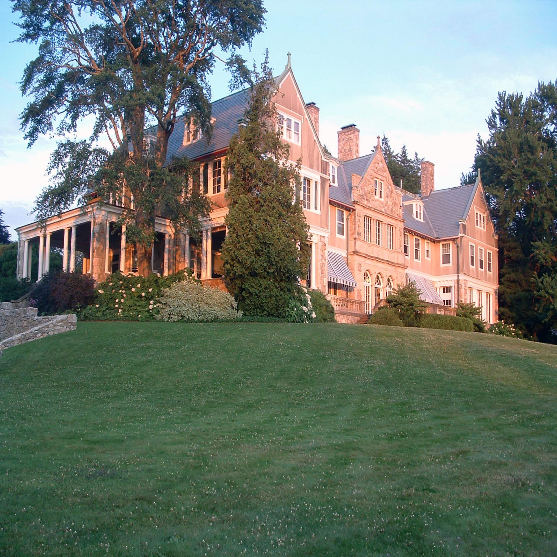 blithewold mansion & arboretum - BRISTOL, RHODE ISLAND