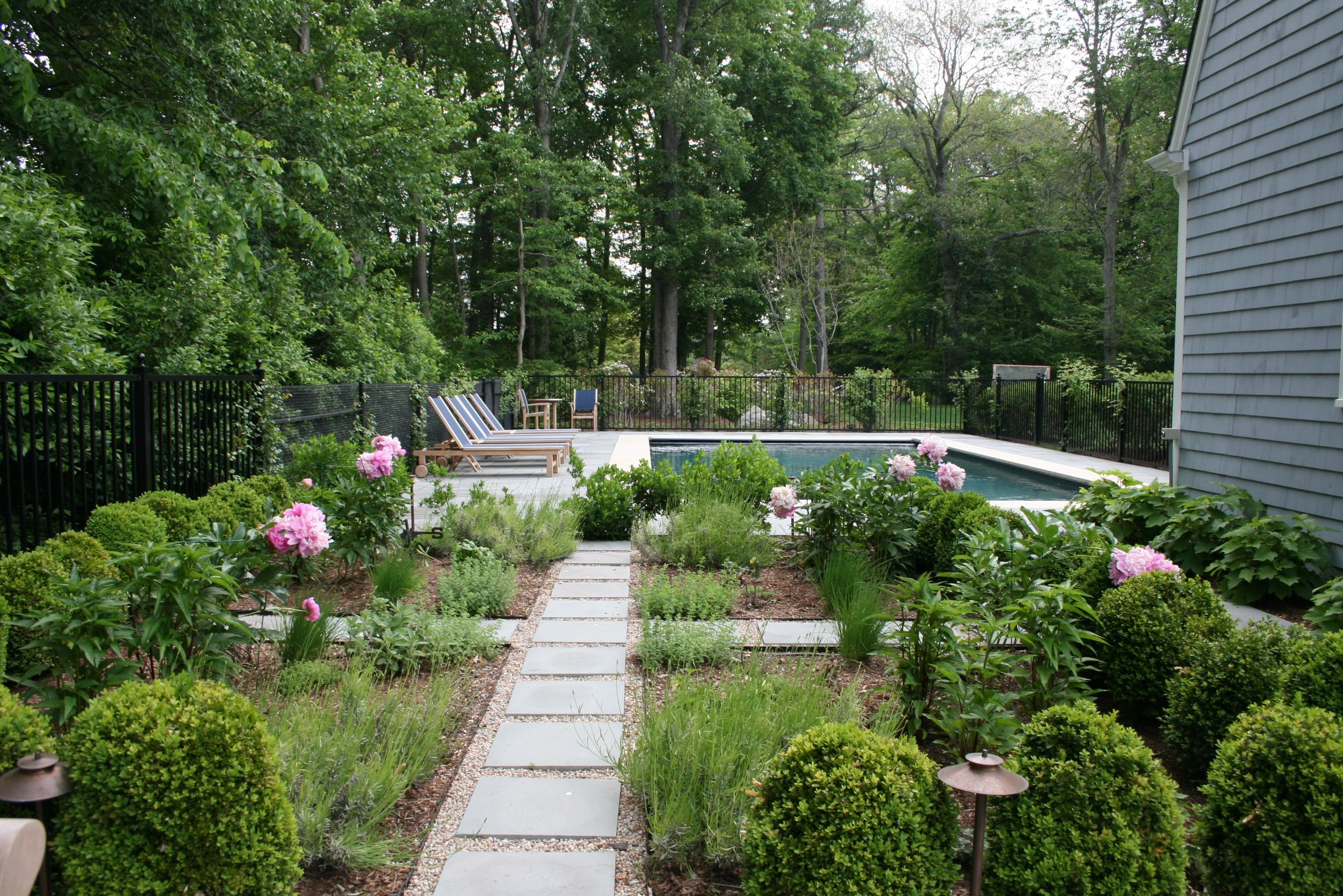 outdoor oasis - COHASSET, MASSACHUSETTS