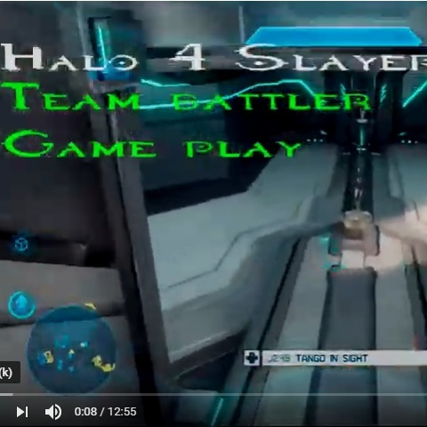 Games/Halo 4 game play streaming game play -