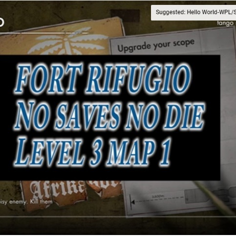 Games/Sniper elite editing
