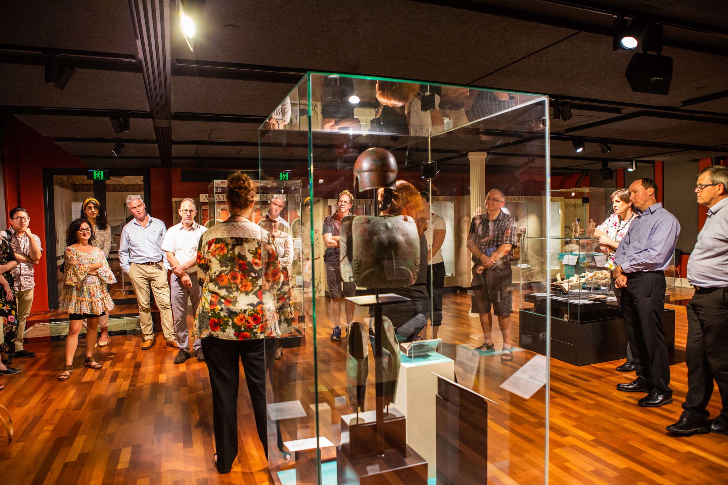 The  'Fantastic Feasts'  exhibition will run from 6 April 2019 to 23 February 2020 at the Teece Museum of Classical Antiquities, UC Arts city location, 3 Hereford Street (in the Arts Centre). It will explore feasting traditions in the ancient world, including the Roman Empire, and highlight the connections that were drawn between food and the gods in ancient times. For more information about the upcoming  'Fantastic Feasts'  exhibition,  click here .