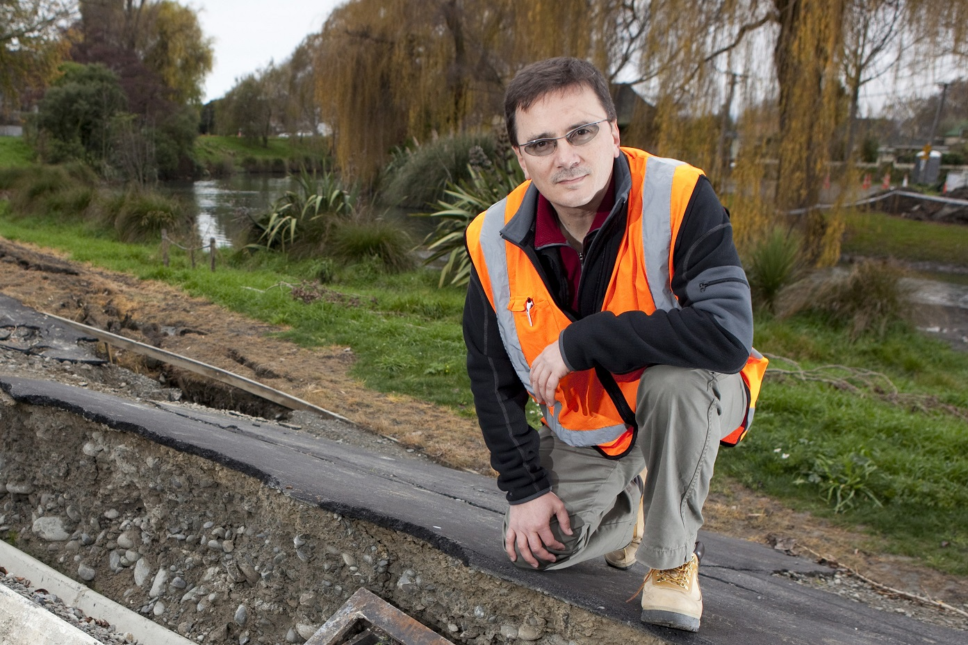 UC Civil Engineering Professor Misko Cubrinovski, pictured in 2011, has won a prestigious international engineering award in the United States. (Photo credit: University of Canterbury)