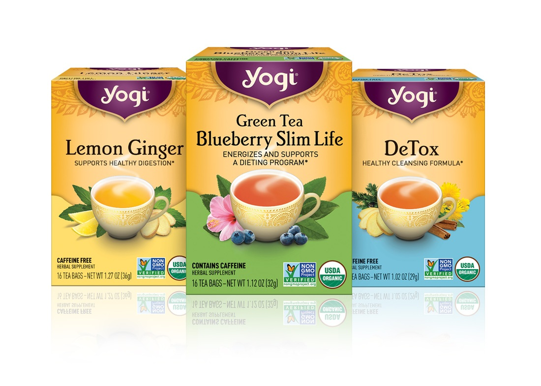 Yogi Tea - Since 1984, Yogi Tea has been blending organic herbs, spices, and botanicals to create delicious teas with healthful and wholesome benefits. With a partnership lasting over a decade, Yogi Tea is one of our longest standing clients. Over that time, we have offered broad brand support including rebranding their look, updating packaging, designing marketing collateral, and coordinating various print projects.
