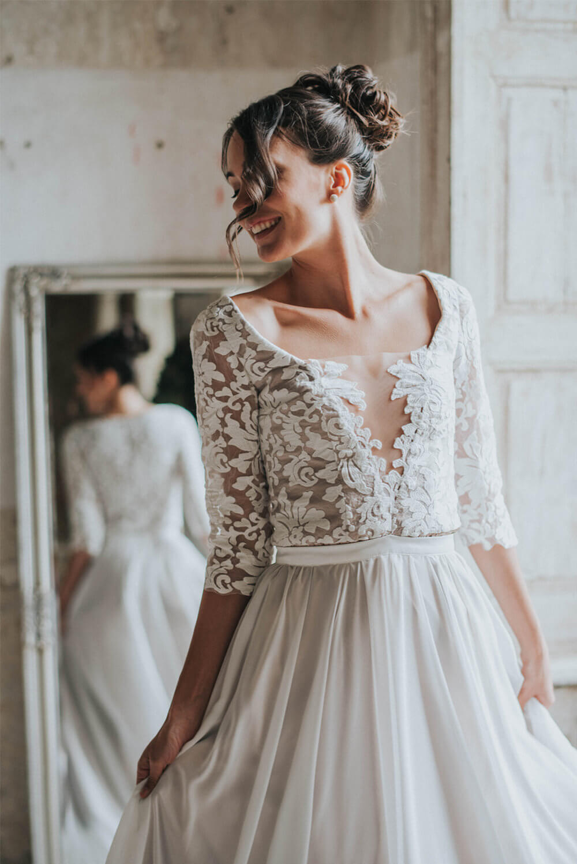 Brautkleid Hochzeitskleid Athena Bespoke Bridal Vienna