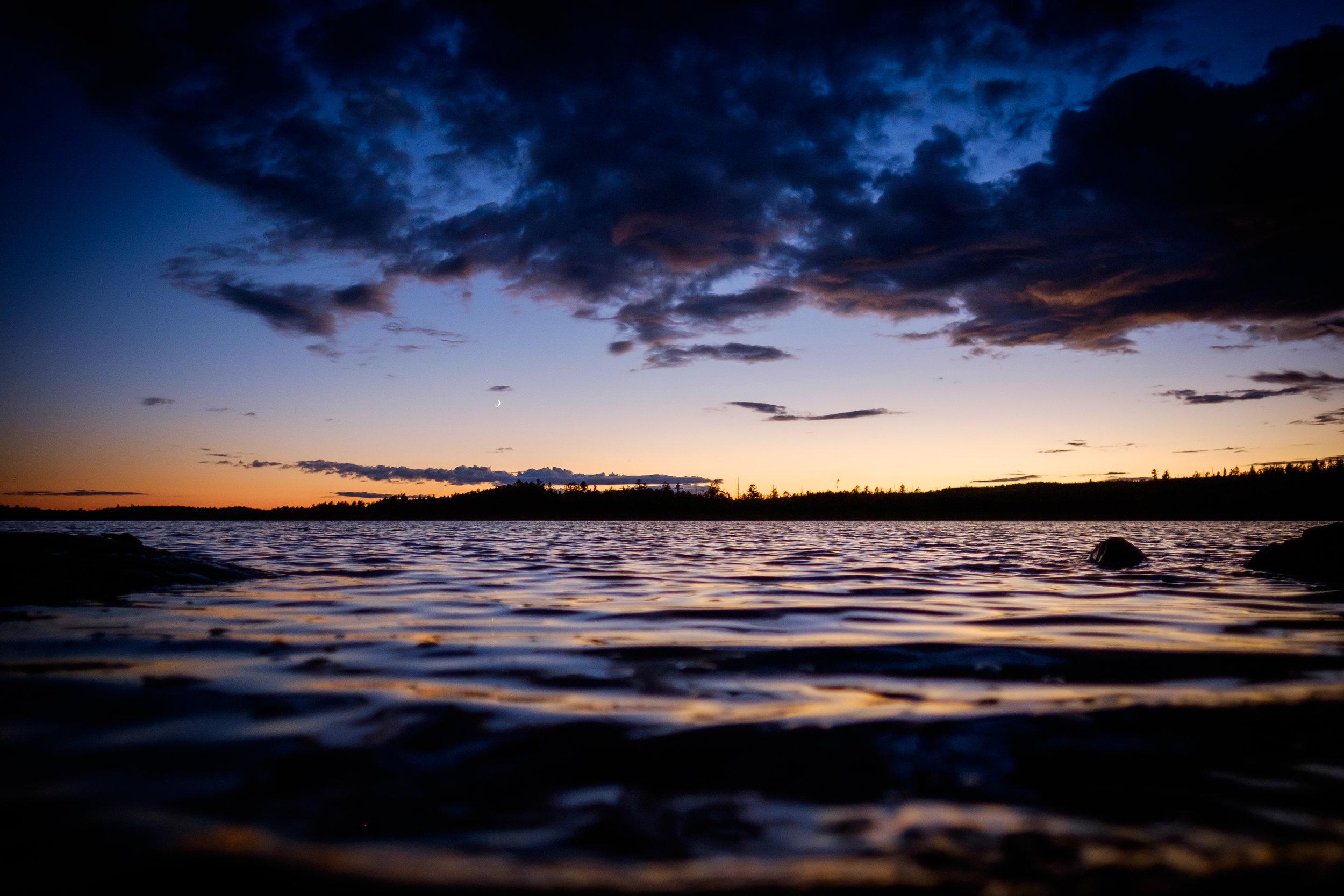 Picture of lake - Representing White Bear Lake