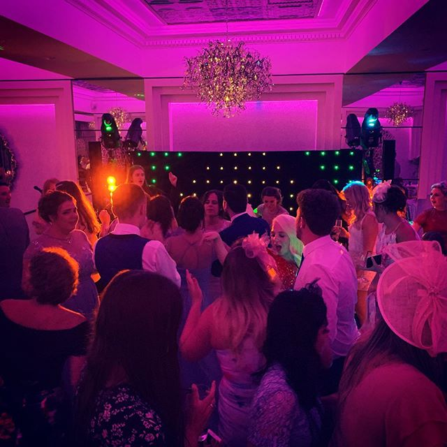 Well I can safely say this rocked! Another brilliant crowd up for having a great time. #weddingsingers #thorntonhall #thorntonhallwedding