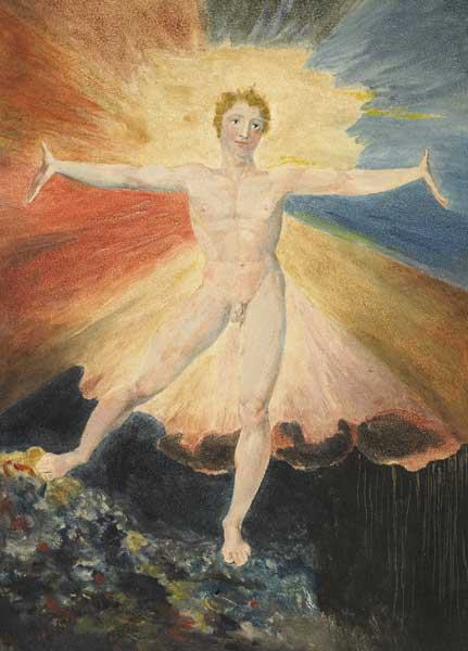 The Dance of Albion (circa 1795) William Blake      The power and radiance of energy fully released, beyond struggle, freed from all bondage and untruth.