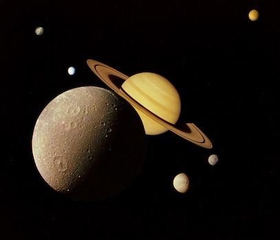 Saturn's Moons