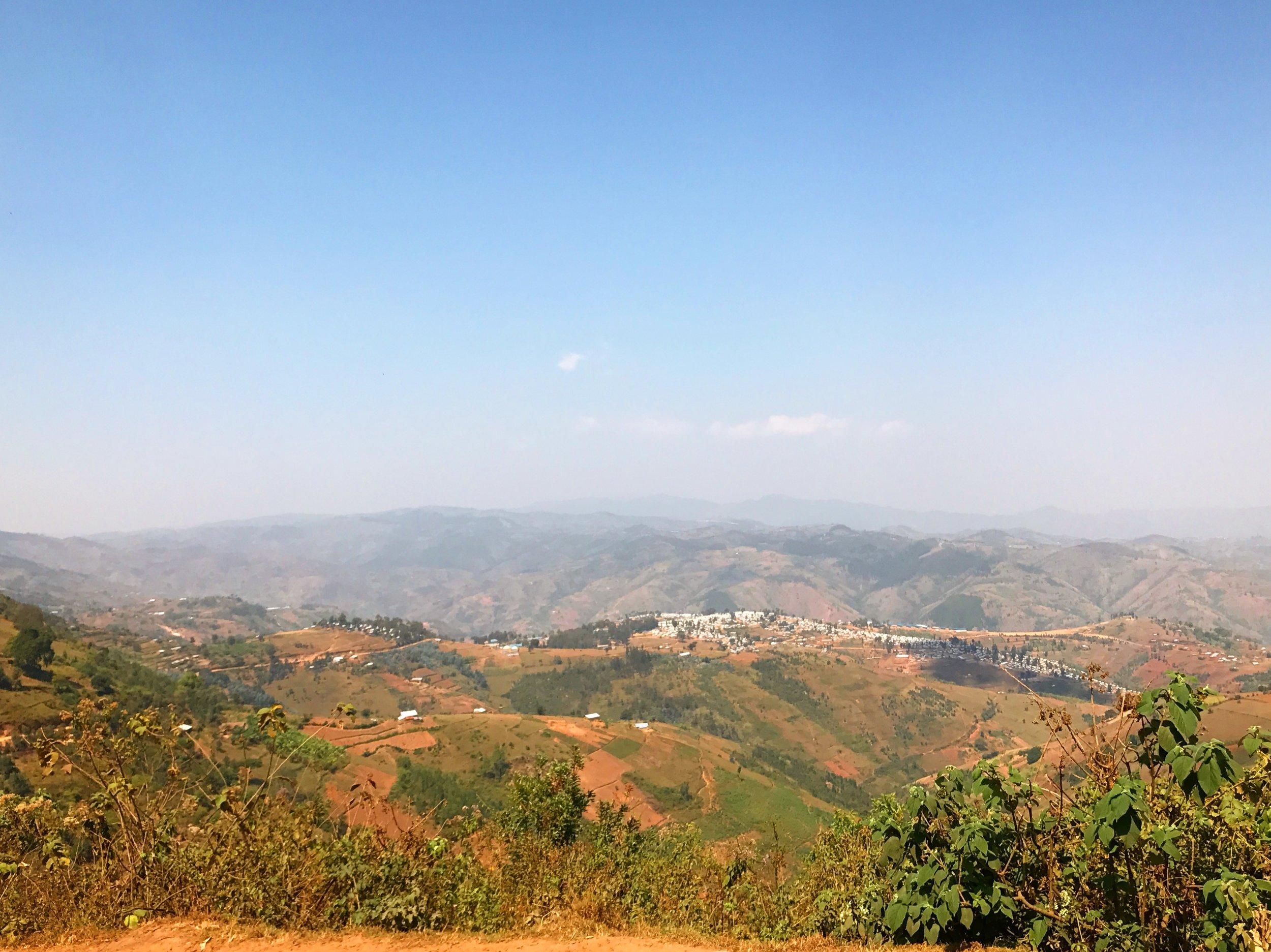 Kiziba Refugee Camp, Rwanda