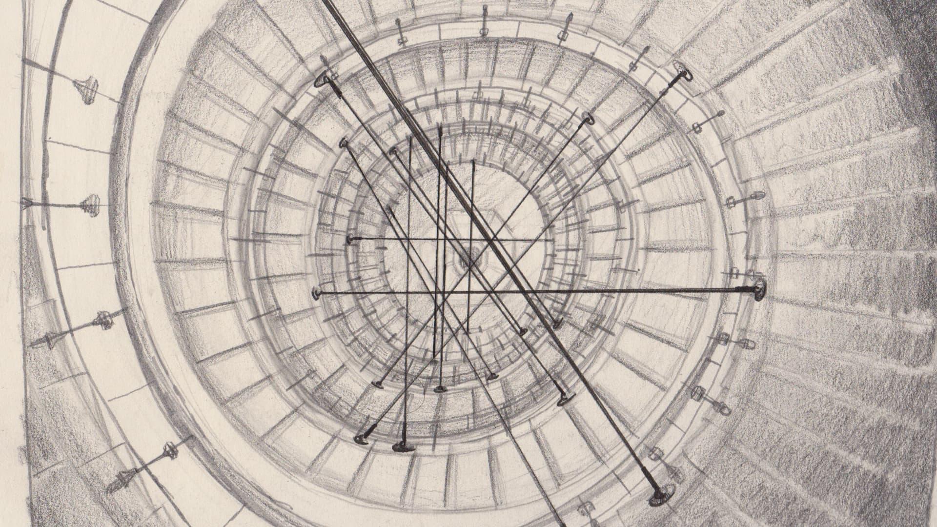 nyx keyshot film process sketch title design logo cables anamorphosis branding