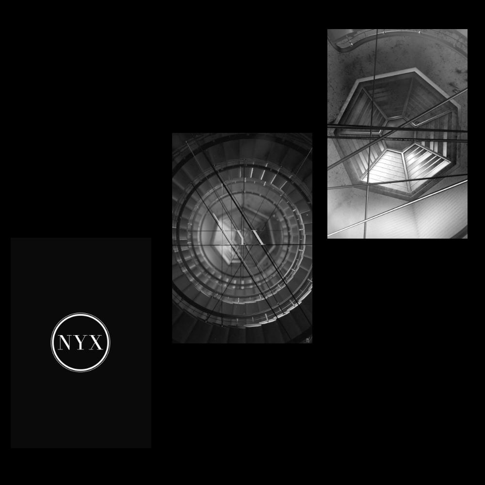 nyx - logo reveal identity