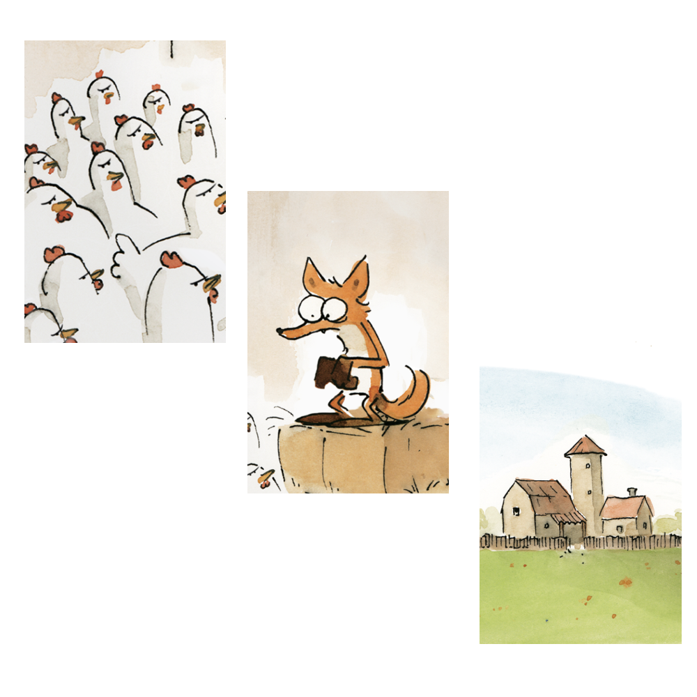 the bigbad fox - book trailer