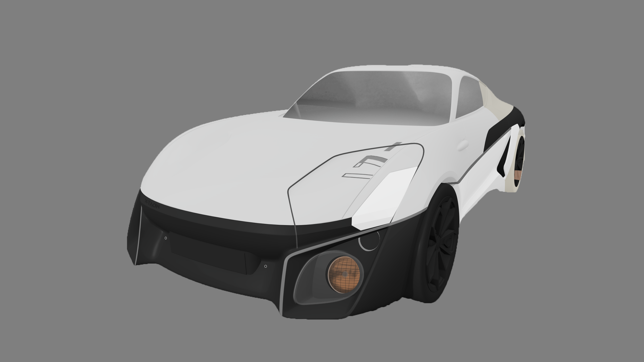 thomas charier xtaon contest concept car sketch design front