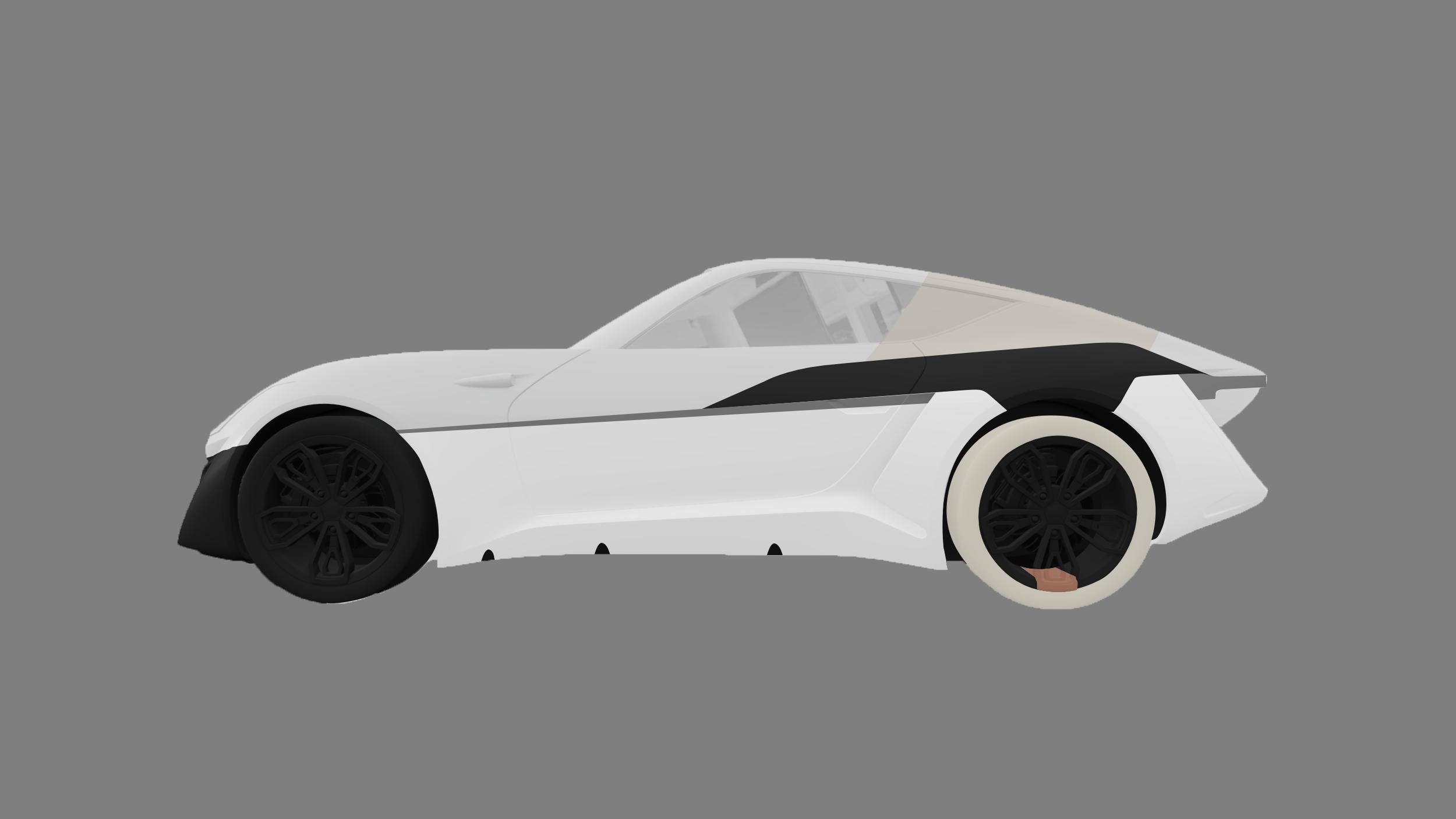 thomas charier xtaon contest concept car sketch design side