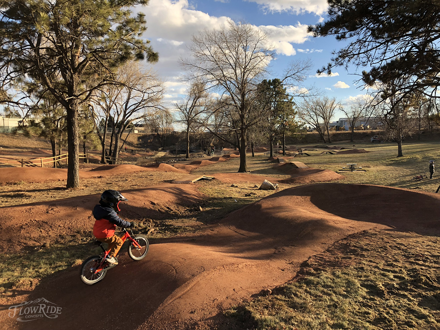 El Pomar Youth Bike Park - Young bicyclists now have three acres dedicated to helping them develop confidence and competence. A new youth bike park, adjacent to Hillside Community Center, includes a street skills course along with a mountain bike skills and obstacle course.