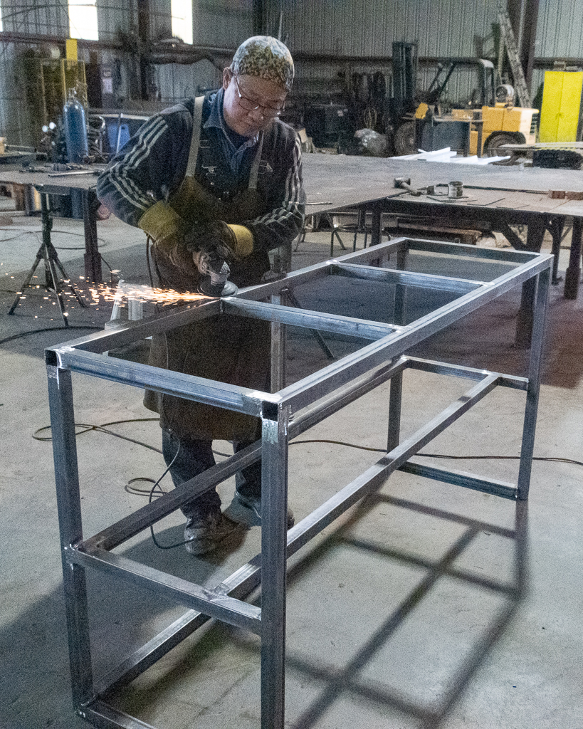 Benches Fabricated
